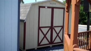 Alan's Factory Outlet 10x10 Mini Barn Storage Sheds, Shenandoah Valley Virginia
