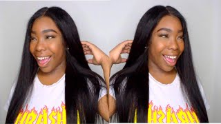 WOW! ON-THE-GO | VERY SOFT BRAZILIAN STRAIGHT HAIR | INITIAL REVIEW | GOSSIP HAIR