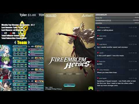 【Fire Emblem Heroes】 Tier 20 Arena Run! Late Night Stream! Come Chat and Chill! :D