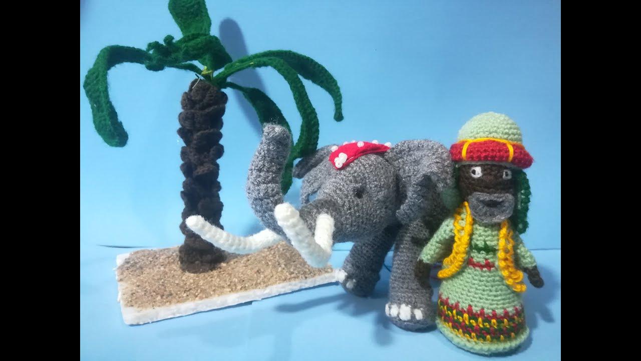 Video Tutorial 1 -  Elefante del Portal de Belén Amigurumi (Introducción)