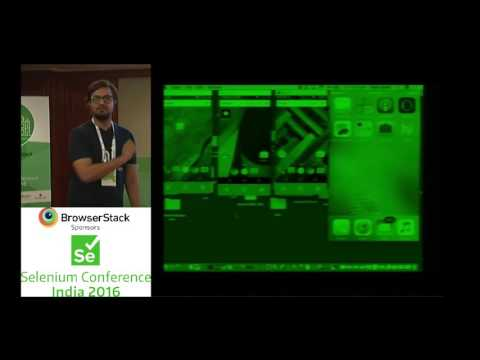 Cross platform, Multi device Instant Communication Testing by Vivek & Naresh at SeConf16