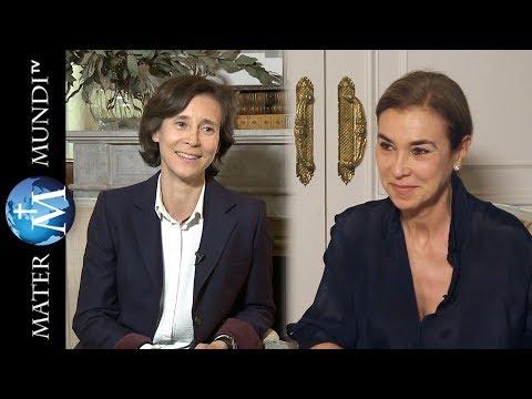 La escritora Carmen Posadas entrevista a su hija Sofía sobre su conversión