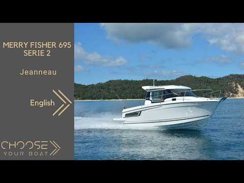 MERRY FISHER 695 Serie 2 - Jeanneau: Guided Tour Video (in English)