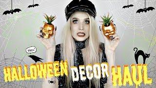 Halloween Decor Haul | 2018