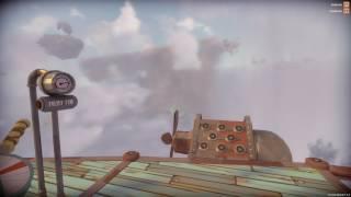 Worlds Adrift - Cruzando la muralla de viento.