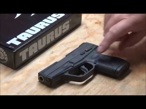 Taurus 709 Slim first shots and review