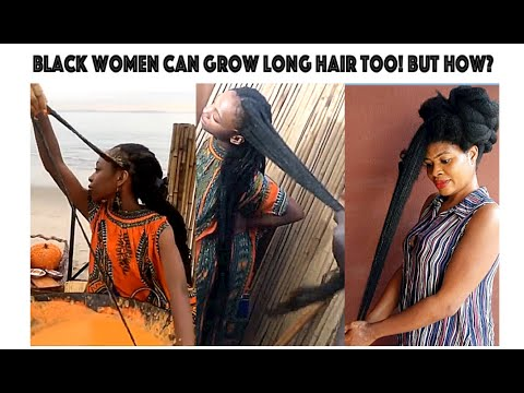 BLACK WOMEN & HAIR GROWTH |HOW TO GROW LONG NATURAL HAIR TO KNEE LENGHT? BENNY HARLEM HAS THE ANSWER