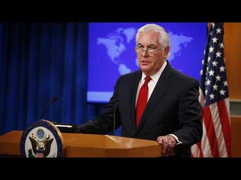Le Secrétaire d'État américain Rex Tillerson se plie à la volonté de Trump