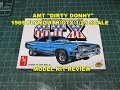 AMT DIRTY DONNY 1969 PLYMOUTH GTX 1:25 MODEL KIT REVIEW AMT1065