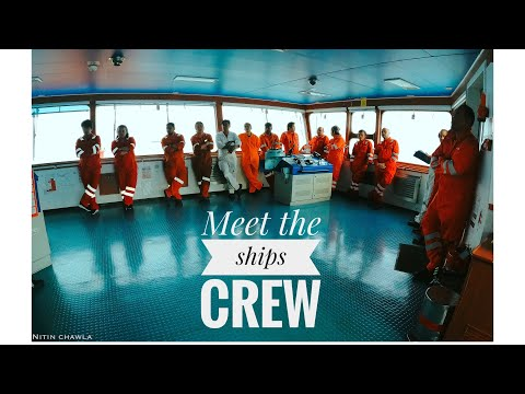 HOW MANY CREW DO WE HAVE ONBOARD MEGA CARGO SHIPS? (Chemical tanker)|| MEET THE CREW ON MY SHIP!