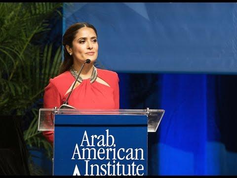 Salma Hayek Pinault's Remarks at the 2015 Kahlil Gibran Awards