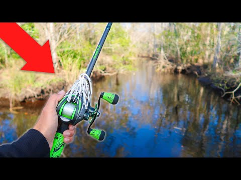 HIDDEN Canal Is LOADED W/ Bass (Fishing For River Monsters Ep.5)