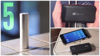 Top 5 External Batteries/Power Banks (2015)