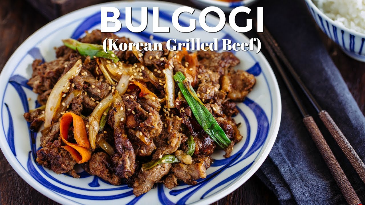 How to make bulgogi korean grilled beef recipe how to make bulgogi korean grilled beef recipe just one cookbook forumfinder Image collections
