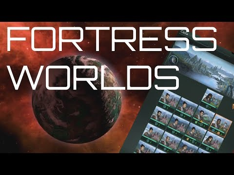 Stellaris - Fortress World Mechanics (The Planet will Break before the Guard does)