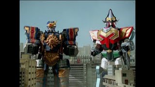 Power Rangers Mystic Force - The Return - Megazord Fight | Episode 30