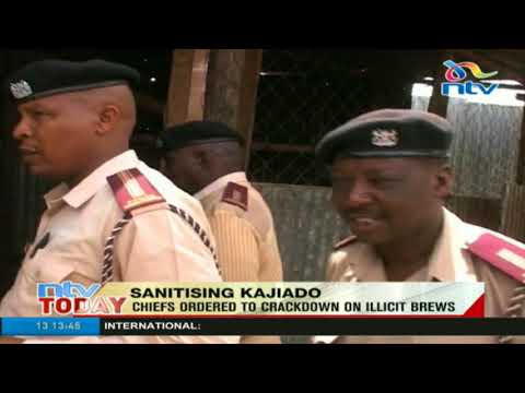 Kajiado chiefs ordered to crackdown on illicit brews