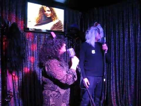 Karaoke party singing caperucita feroz (fierce little red hood) part I