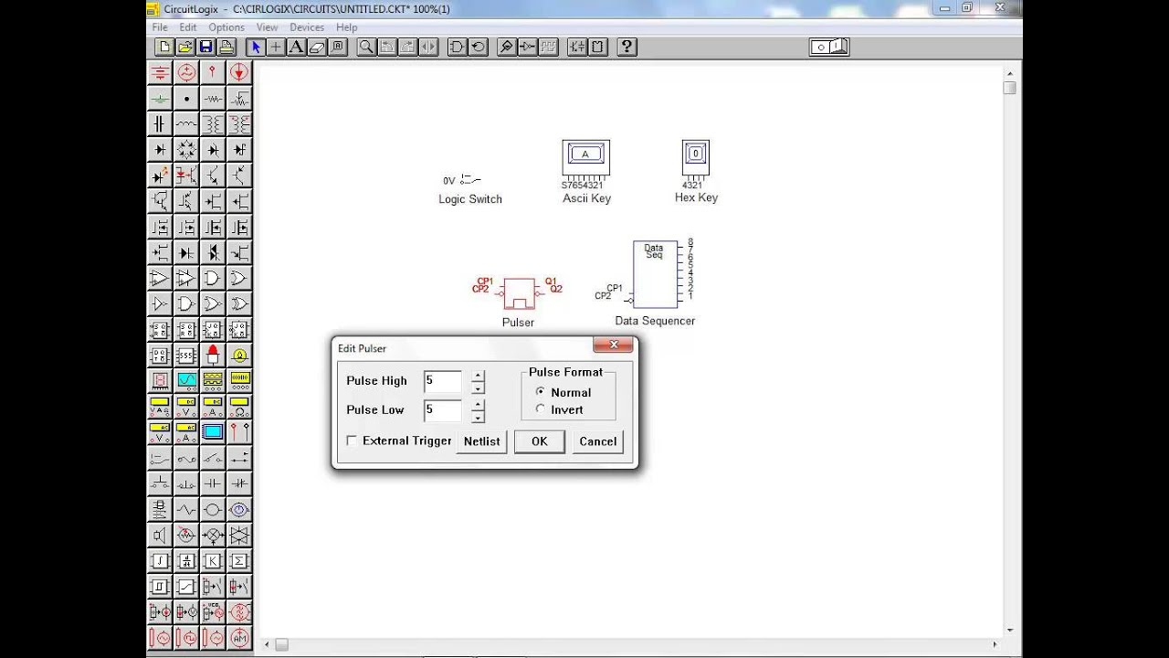 Circuitlogix Tutorial 6 Digital Circuit Simulation Part 1 Youtube Lab 4 And Analogue Integrated Circuits Diode