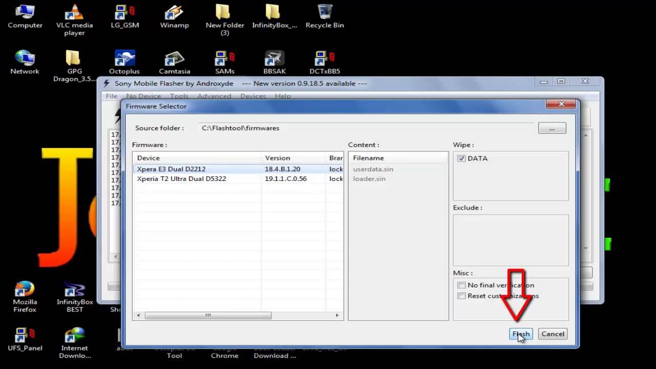 Easy Hard Reset Remove google Sony Xperia E3 D2212