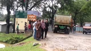 India Bangladesh border situated at Shillong Meghalaya