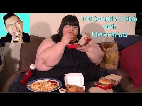 McDonald's Mukbang Collab with MerrickEats (Eating Show)