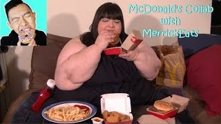 McDonald's Mukbang Collab with MerrickEats (Eating Show)