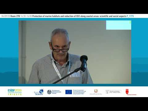 Protection of marine habitats and reduction of CO2 along coastal areas:scientific and social aspects