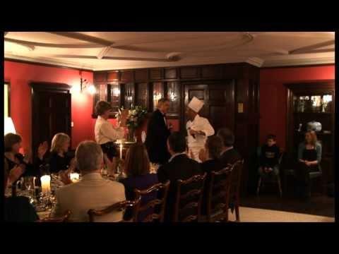 SOS Secret Opera Singers. Singing Waiters in Scotland