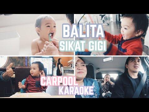 Vlog #198 | DEMEN AIR! BALITA HOBBY SIKAT GIGI, KARAOKE ft. PENYANYI ASLINYA😜🎤