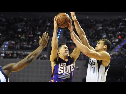 NBA in Mexico City! Devin Booker Catches Fire! 39 Pts 6 3s Mavericks vs Suns