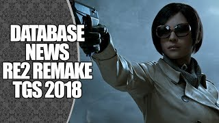 RESIDENT EVIL 2 REMAKE NA TGS2018: COMENTANDO O NOVO TRAILER | DATABASE NEWS