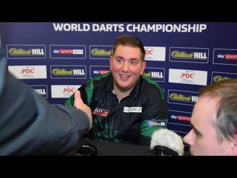 PDC Dart WM 2018 - Interview Kevin Münch nach 3:1 gegen Adrian Lewis