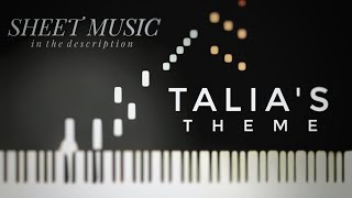 """""""Talia's Theme"""" by Two Steps From Hell (Piano)"""