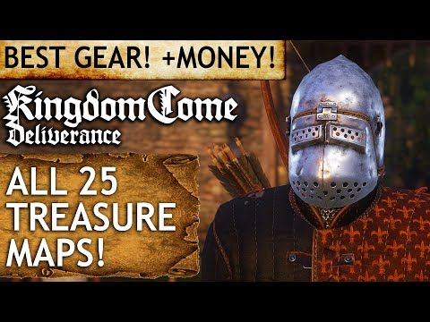 Kingdom Come: Deliverance - All 25 Treasure Maps
