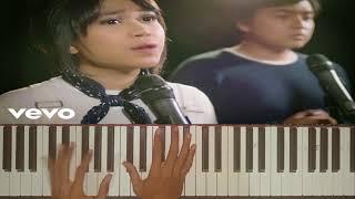 Piano karaoke Arsy Widianto, Brisia Jodie - Dengan Caraku (Acoustic Version)