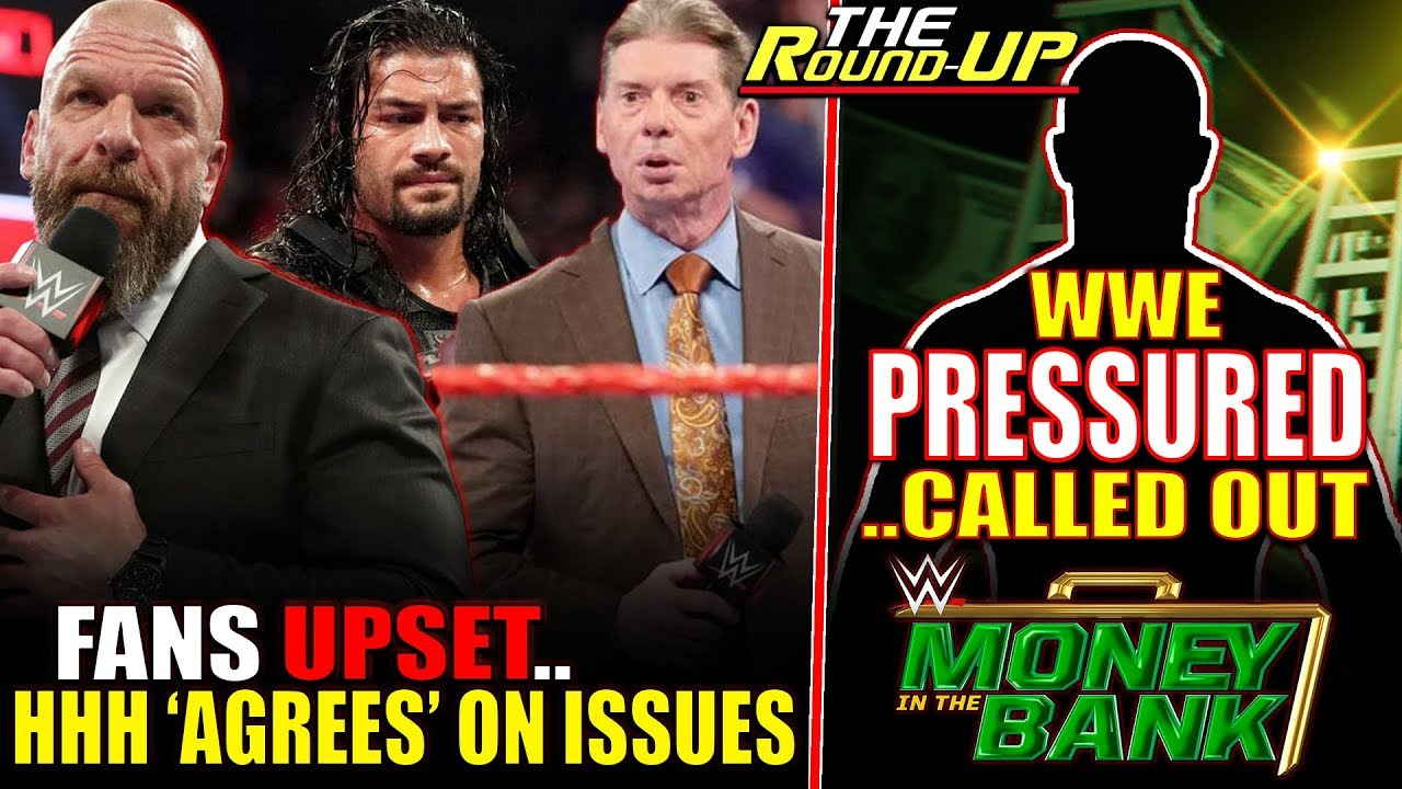 WWE UNDER PRESSURE! Fans UPSET, Triple H Agrees WWE Is BAD & Brand Split STATUS - The Round Up
