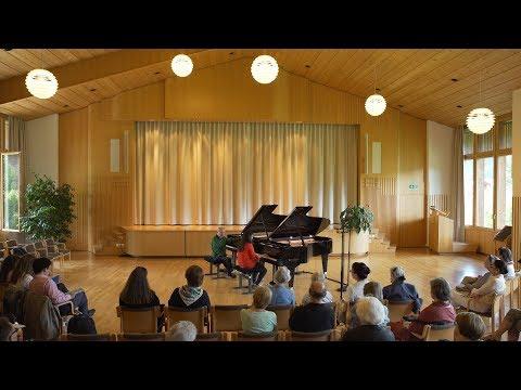 Die «Gstaad Piano Academy 2017» mit Sir András Schiff präsentiert von Schaghajegh Nosrati