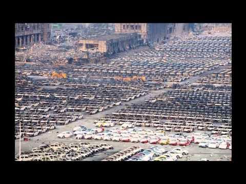 Tianjin, China - Les explosions vues de près