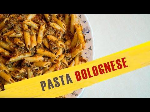 Katy  Acho Cooking  პასტა ბოლონეზე  Pasta Bolognese