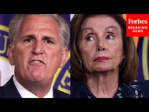 Kevin McCarthy Calls Out Pelosi For Democratic Members Of January 6 Committee
