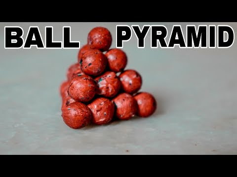 Solving The CRAZY Ball Pyramid PUZZLE!!!