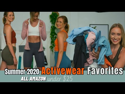 AMAZON activewear | DUPES | TRY-ON HAUL SUMMER 2020