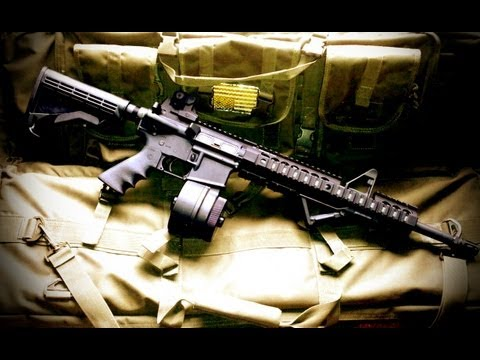 Installing Midwest Industries (MI) Rail System On My Rock River AR15 (by: Lost Dispatch)