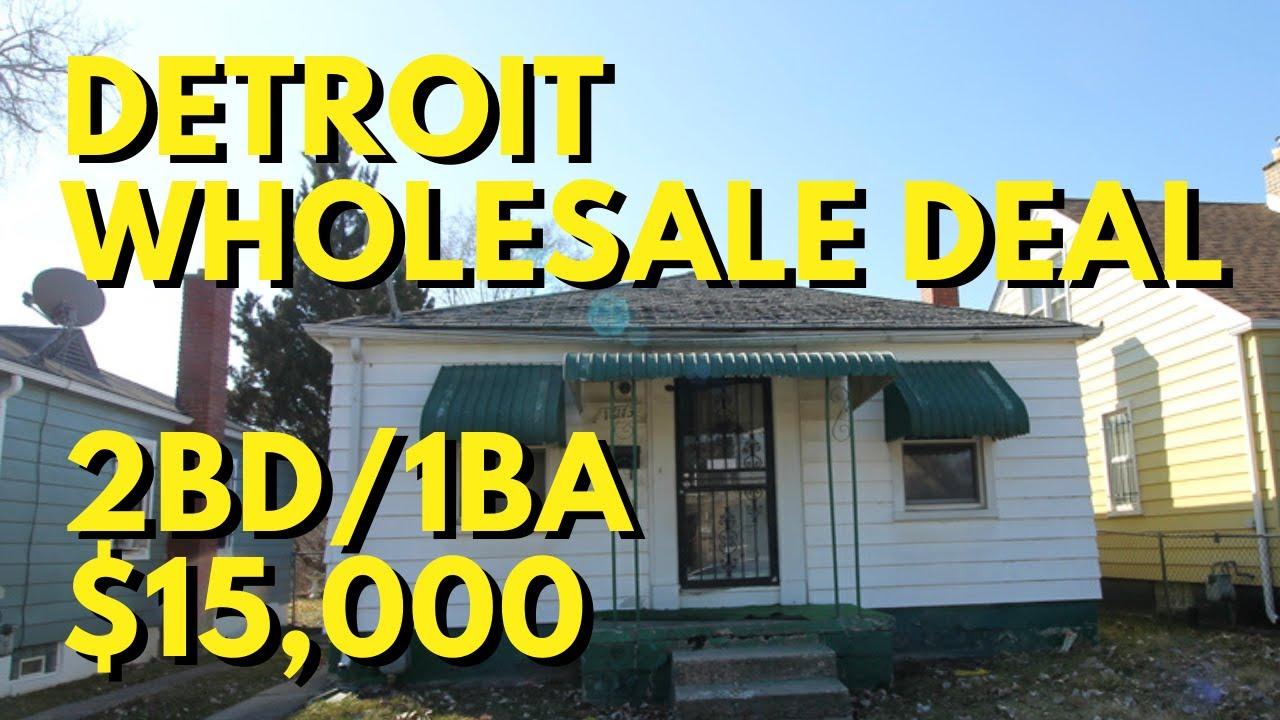 Cheap House For Sale -  Off Market Detroit Wholesale Deal