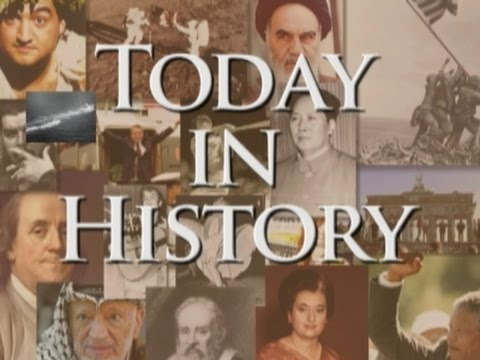 Today in History For October 25