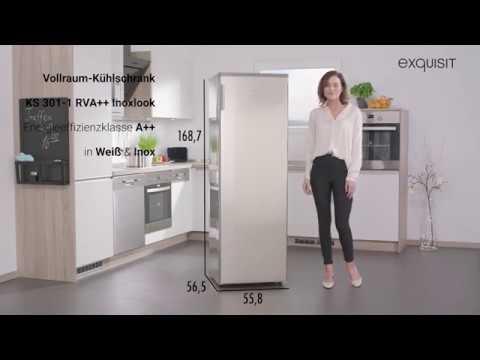 Kühlschrank Vollraum : Ks rva vollraum kühlschrank weiß youtube