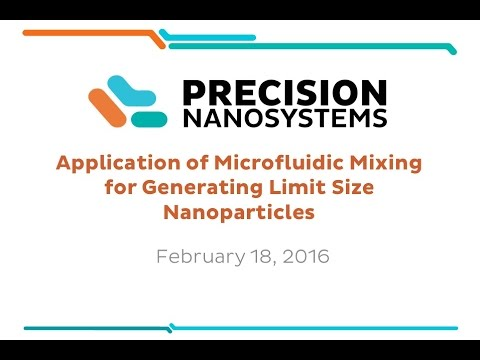 Application of Microfluidic Mixing for Generating Limit Size Nanoparticles
