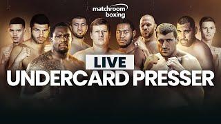 Undercard press conference | Povetkin vs Hunter, Whyte vs Wach, Hrgovic vs Molina & more!
