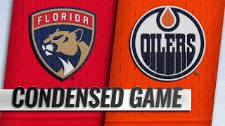 01/10/19 Condensed Game: Panthers @ Oilers